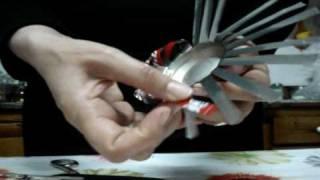 Como hacer un cenicero con latas