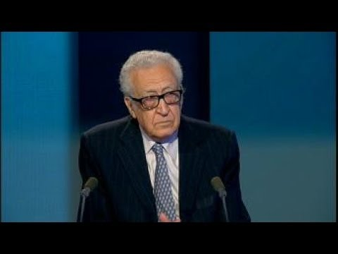 Lakhdar Brahimi :