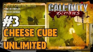 CoD Custom Zombies - Cheese Cube Unlimited! | Let's Profile Some Cheesy Upgraded Guns! (Part 3)