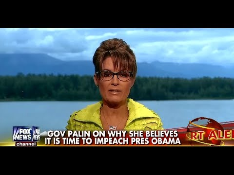 • Sarah Palin • It Is Time To Impeach Obama • 7/8/14 •