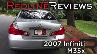 2007 Infiniti M35x Walkaround, Exhaust, Review, Test Drive videos