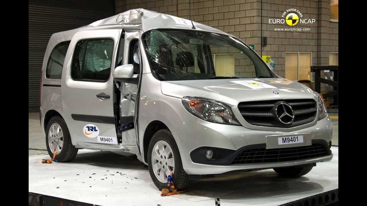 euro ncap mercedes benz citan kombi 2013 crash test. Black Bedroom Furniture Sets. Home Design Ideas