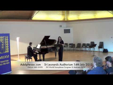 WSCXVI PAULA VAN GOES   Concertino by Radamés Gnatalli
