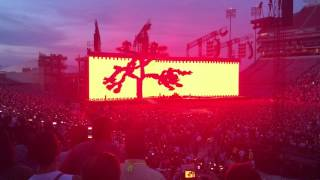 "U2 - Louisville concert 6/17/17 with ""flyover"""