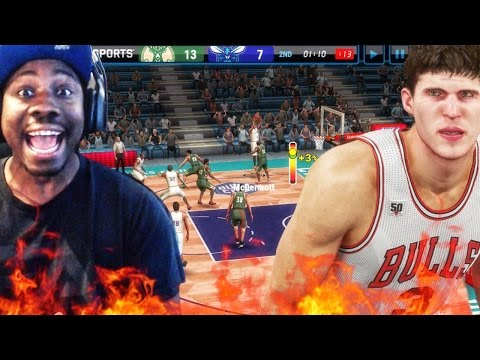 NBA LIVE MOBILE 16 GAMEPLAY! DOUG ON FIRE🔥LEGENDS & SETS! Ep. 1