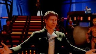 I'm Han Solo: Kinect Star Wars Gameplay