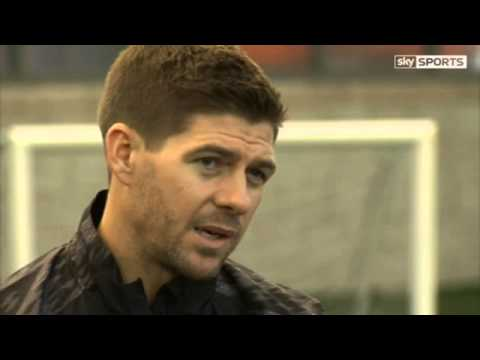 Steven Gerrard speaks about the upcoming year with the England team...