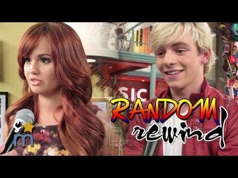 AUSTIN & ALLY and JESSIE Casts Dance & Answer Random Questions - Random Rewind
