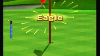 Wii Sports Golf Amazing Chip-Ins For Eagle Then A Hole