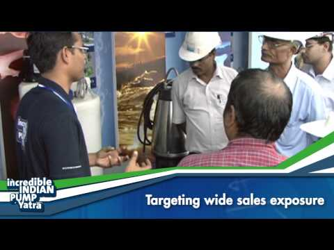 "GRUNDFOS  ""Incredible Indian Pump Yatra"" Mobile Exhibit By RC&M India 