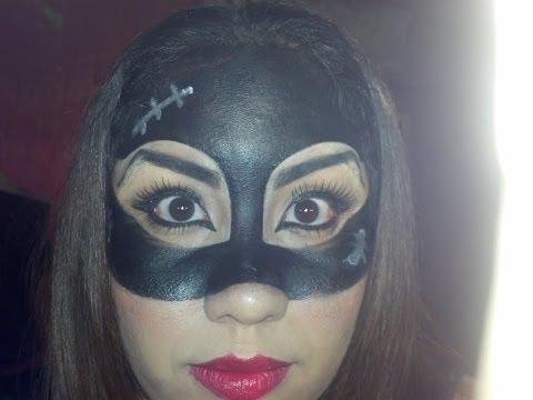 utorial de maquillaje para halloween de gatubela