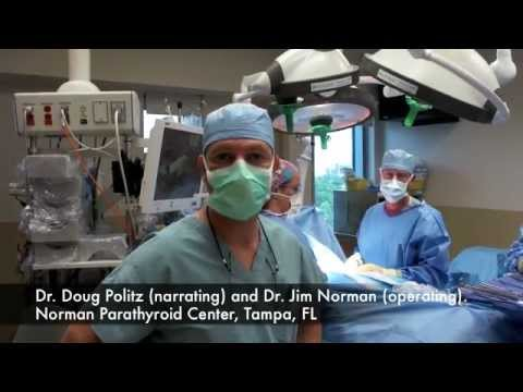 Parathyroid Operation: State of the art Mini Parathyroid Surgery in 13 Minutes.