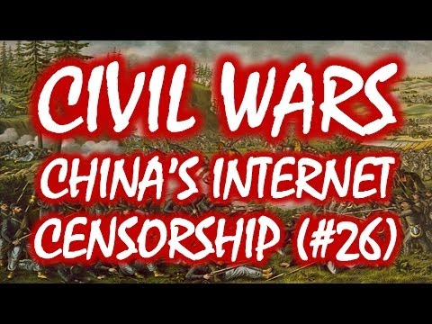 Civil Wars MOOC (#26): The Real Reason for China's Internet Censorship