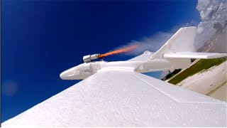 DIY Rocket Powered Plane!
