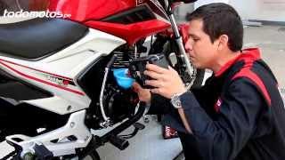 Cómo cambiar el aceite a la moto