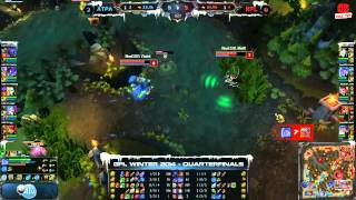 [GPL 2014 Mùa Đông] [Tứ Kết] [Game 3] Azubu Taipei Assassins vs Neolution Full Louis [04.12.2013]