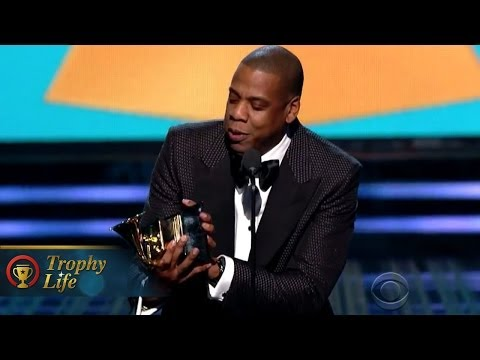 Jay-Z Wins 'Sippy Cup' Grammy for Blue Ivy, Thanks Beyonce! VIDEO!