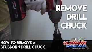 Drill chuck removal