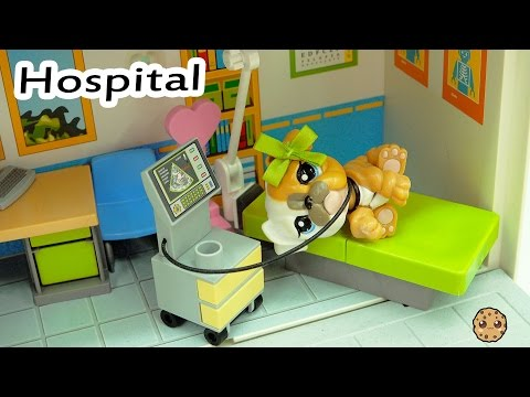 Hospital Time - LPS Mommies Series Littlest Pet Shop  - Part 71 Cookieswirlc Video