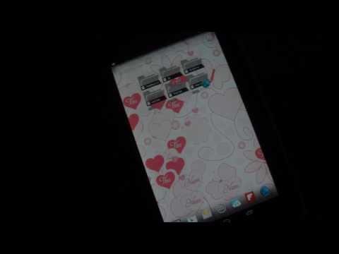 Hình nền động android | Tự tay tạo chữ trái tim