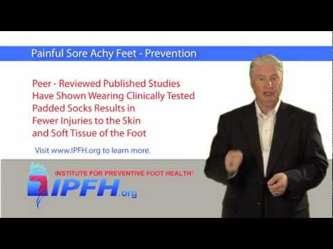 Painful Sore Feet - Prevention