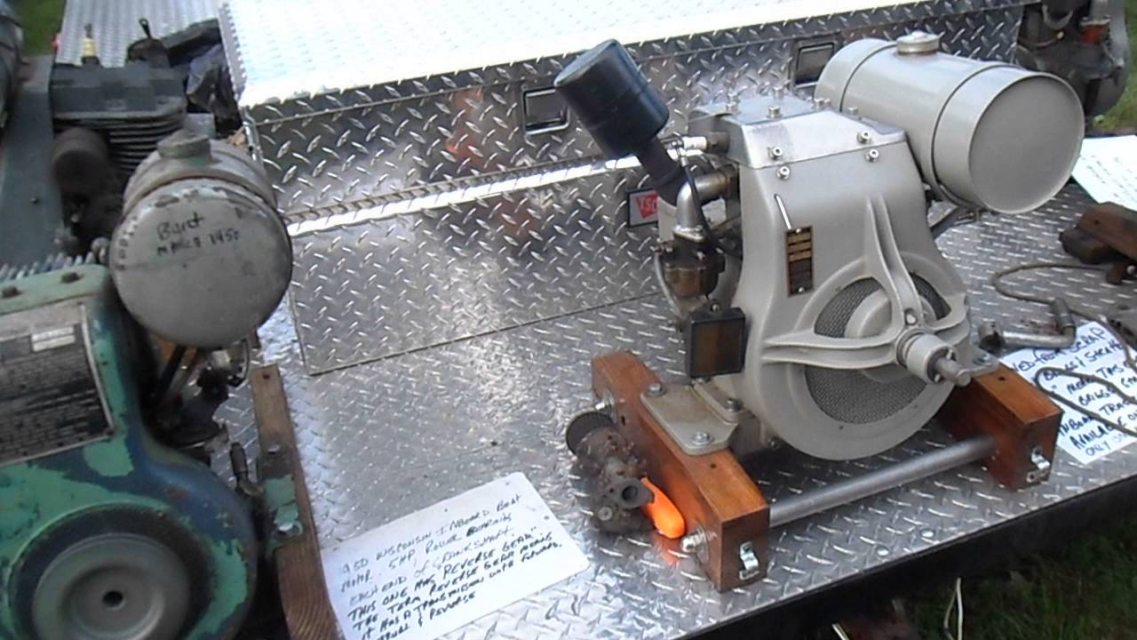 Briggs stratton lauson wisconsin aircooled air cooled for How inboard boat motors work