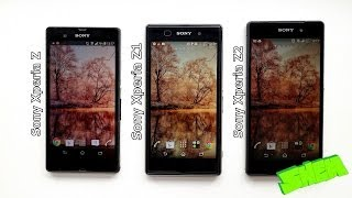 Sony Xperia Z Vs. Xperia Z1 Vs. Xperia Z2 Hands On