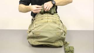 5.11 Rush Backpack Using The Molle System