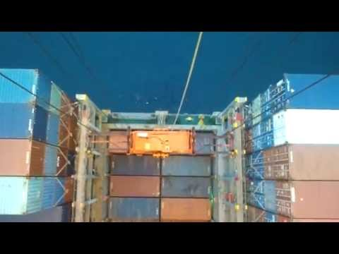 Double loading container (Φόρτωση διπλά κοντέινερ)