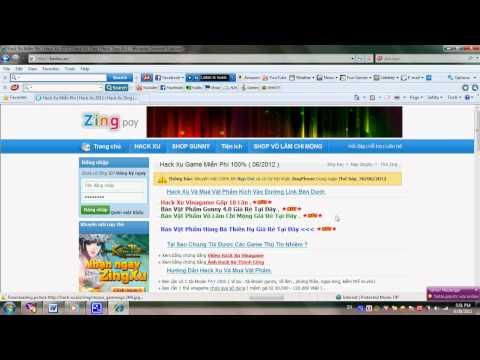 HACK XU | HACK ZING XU 2013 | HACK XU ZING ( HackXuVip.Com )