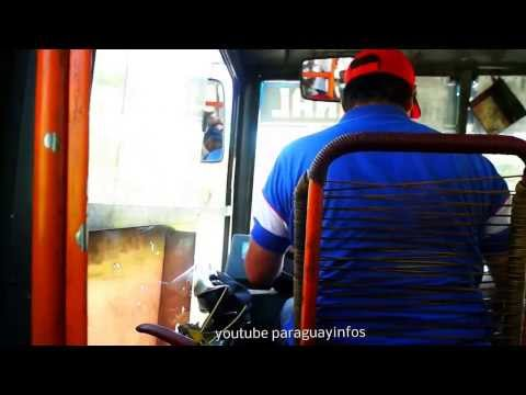 Paraguay Tourist Video to go by bus tomar el autobús mit dem bus fahren