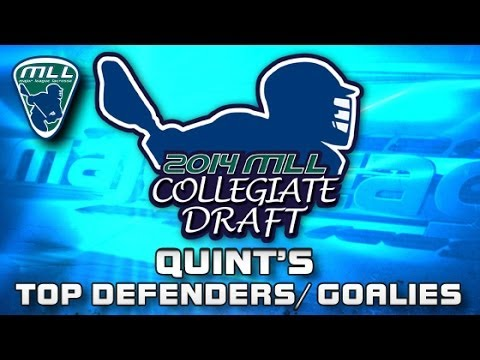 2014 MLL Draft Preview: Quint's Top Defenders and Goalies
