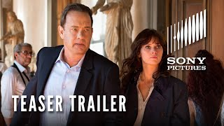 INFERNO Teaser, Tom Hanks, Felicity Jones, Irrfan Khan