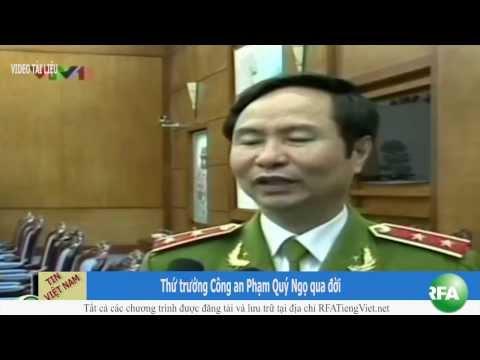 Thứ trưởng Công an Phạm Quý Ngọ qua đời
