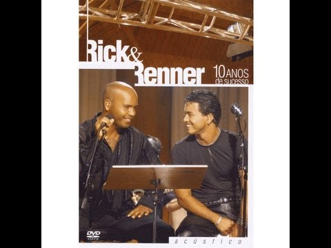 dvd   rick e rener 10 anos