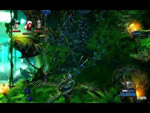 Trine 2 Walkthrough - Chapter 8 - Mushroom Caves