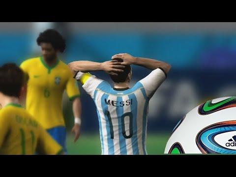 2014 Fifa World Cup - Una Final Argentina Vs Brasil, Siguen con su mal momento Futbolistico