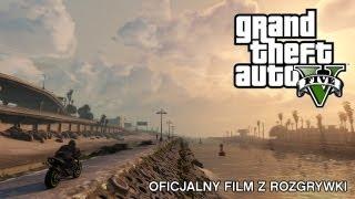 Grand Theft Auto V: Oficjalny Film Z Rozgrywki