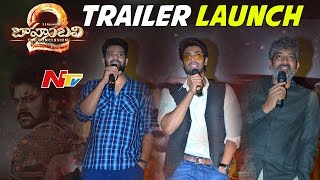 Baahubali 2 Telugu Movie Trailer Launch Event