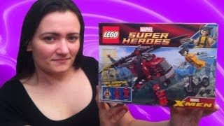 LEGO 6866 Wolverine's Chopper Showdown LEGO Marvel X-Men