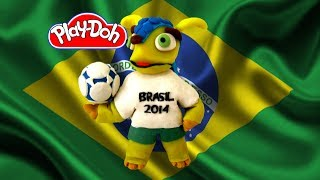 How To Make Fuleco The Armadillo Mascot Of The 2014 FIFA
