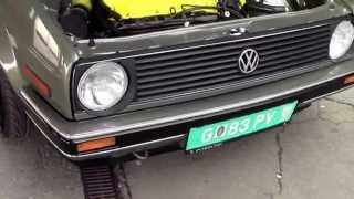 Turbo Am See Ömer Golf 2 VR6 Turbo Hulk Sabotnig 2014