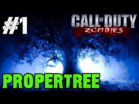 Propertree Re-Visited! Ep.1 - Call of Duty Custom Zombies (CoD Zombies) - World at War [PC HD]