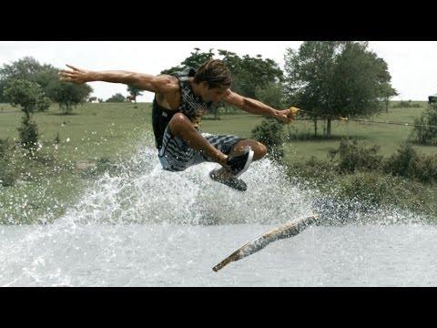Skateboarding on Water with Sea-doo! 4K Wakeskating!
