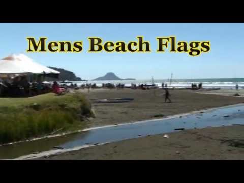 New Zealand Surf life Saving Nationals mens Beach Flag finals