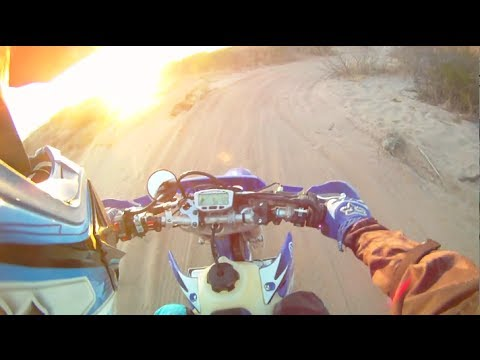 Dirt wheelies. riding in the Dona Ana mountains