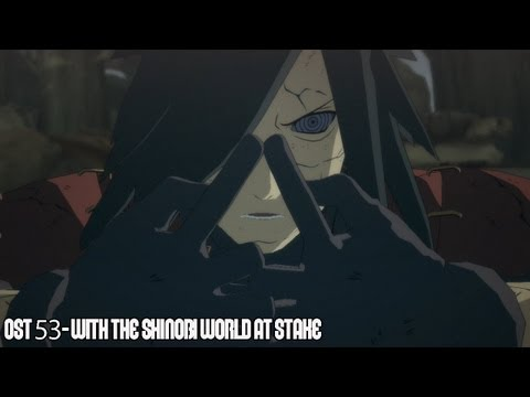 Naruto: Ultimate Ninja Storm 3 OST 53 - With the Shinobi World at Stake