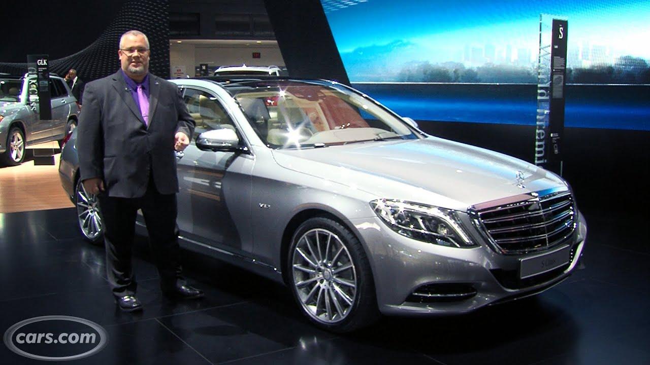 2015 mercedes benz s600 2014 detroit auto show youtube for Mercedes benz 2014 s600