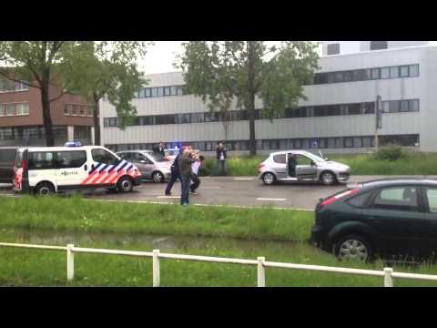 Arrestatie van vuurwapengevaarlijke verdachten
