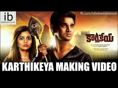 Nikhil's Karthikeya Making video trailer
